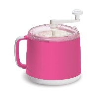 Donvier Manual Ice Cream Maker, 1-Quart, Pink by Donvier