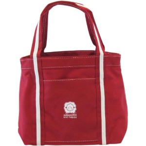 Knit Happy Take-Along Tote-Red (並行輸入品)