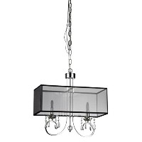 Whse of Tiffany RL1328/2 French Crystal Chandelier by Whse of Tiffany