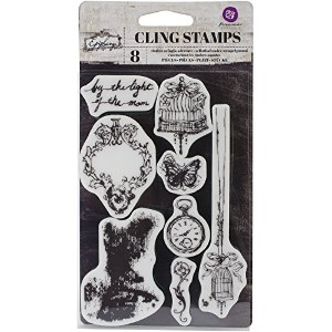 "Epiphany Cling Rubber Stamps 4""X6""- (並行輸入品)"