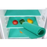 Silica Gel Produce Fresh-keeper and Food Storage Fridge Mat- Extends the Life of Food (Green) 47...