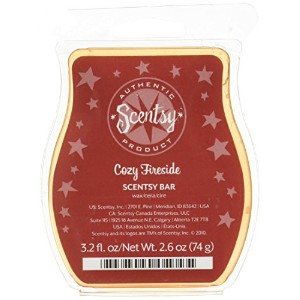 Scentsy Cozy Fireside香りつきワックスfor warming 3.2Oz