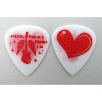 PICK BOY GP-AR-15/08 Angel Rocks Damage heart 0.8mm ピック×10枚