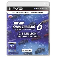 PSN Digital Download Code - 2.5 Million Gran Turismo In Game Credits