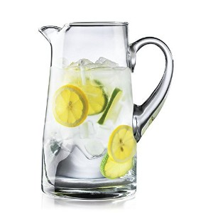 Libbey / Crisa Impressions 90 Ounce Capacity Clear Glass Pitcher by Libbey