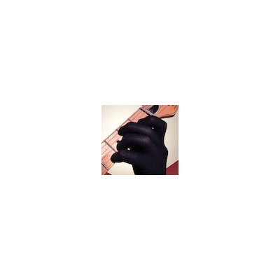 Guitar Glove /Bass Glove /Musician Practice Glove -S- 2 Pack - fits either hand - COLOR: BLACK