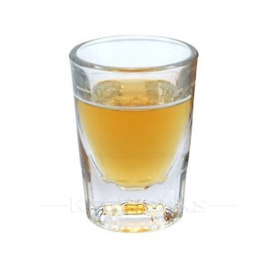 1 X 2 oz Heavy Shot Glass with Line by Anchor Hocking