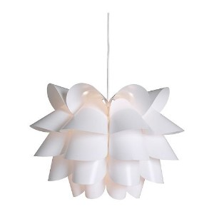 Ikea 600.713.44 Knappa Pendant Lamp, White by Ikea