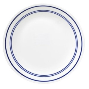 Corelle Livingware Classic Cafテδゥ Blue 10-1/4 Dinner Plate (Set of 4) by Corelle Coordinates