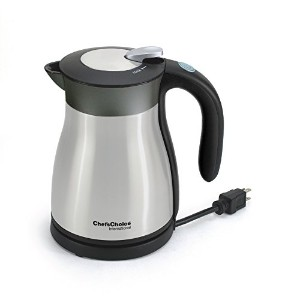 Chef's Choice 691 International Keep Hot Thermal Electric Kettle, 1.2 L, Stainless Steel by Chef's...
