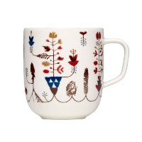 Sarjaton Varpu White Coffee Mug By Iittala by Iittala
