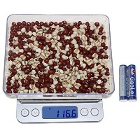 Kitchen Food Scale - Dealight 2000g /0.01oz Digital Pocket Scale with Backlit LCD display by...