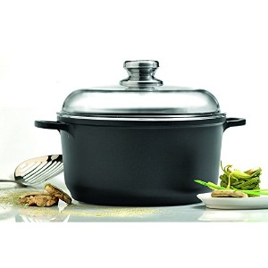 "Eurocast Professional調理器具8 "" 2.6l Stock Pot withガラス蓋"