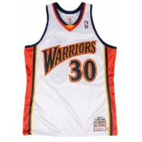MITCHELL & NESS NBA AUTHENTIC COLLECTION JERSEY メンズ Golden State Warriors | Curry, Stephen | White ...