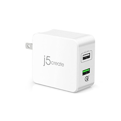 【国内正規代理店品】Quick Charge 3.0対応 31.5W 2ポート急速USB充電器 31.5W 2port USB Super Charger JUP20