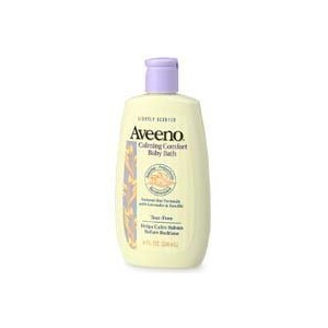 海外直送品Aveeno Calming Comfort Baby Bath, 8 oz (Pack of 3)
