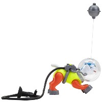 Penn Plax PP01082 Aerating Diving Sea Dog