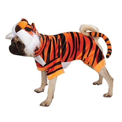 Casual Canine Bengal Buddy Dog Costume, X-Small, Orange by Casual Canine