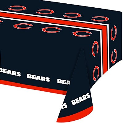 Creative Converting All Over Print Chicago BearsプラスチックBanquetテーブルカバー