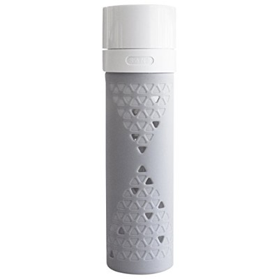 (Grey, 473 mL) - The SANS vacuum bottle BPA Free with Silicone Cover An innovative bottle to vacuum...