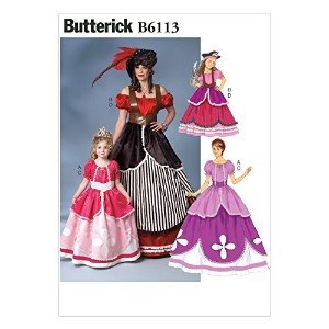 Butterick Patterns B6113 Misses'/Girls' Costume, Size MIS by BUTTERICK PATTERNS