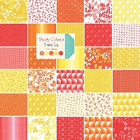 Simply Colorful Moda Charm Pack By V and Co.; 42 - 5 Precut Fabric Quilt Squares by moda