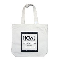 【City Lights Bookstore】 Allen Ginsberg / Howl and Other Poems Tote Bag (Natural)