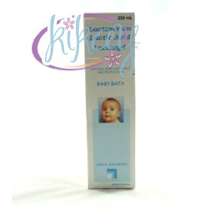 LACTACYD NATURAL SKIN CLEASING AND PROTECTION BABY BATH ラクタシード ブルー ベビーバス 250ml