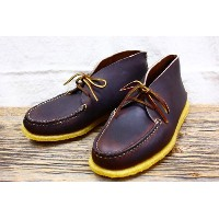 NATURE KREEC  0130A 2EYE BLUTCER MOCCASIN  (BROWN) 8inch E