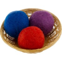 EveryDay Willow Wool Dryer Balls Gift Set of 3, Colors May Vary by EveryDay Willow