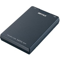 BUFFALO HD-PH40U2/UC-BK USB2.0バスパワー ポータブルHDD