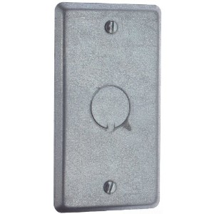 "Thomas & Betts58C6Handy Box Cover-HANDY 1/2"" KO COVER (並行輸入品)"