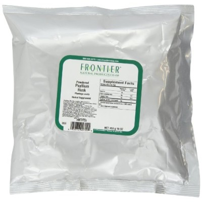 Frontier Natural Products - オオバコ殻粉末 - 1 lb。
