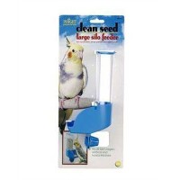 JW Pet Company Insight Silo Feeder Bird Accessory, Large, Assorted Colors by JW Pet