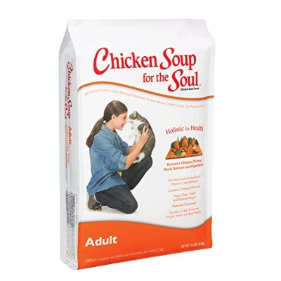 Chicken Soup for The Soul Adult Cat Dry Food Pet Formulated Nutrition 15lbs