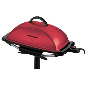 George Foreman Indoor/Outdoor Grill, Red by George Foreman