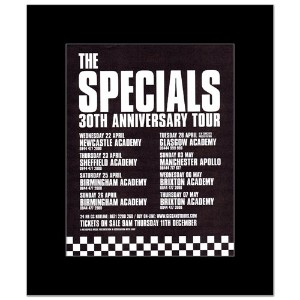 SPECIALS - 30th Anniversary Tour Mini Poster - 30x24.2cm