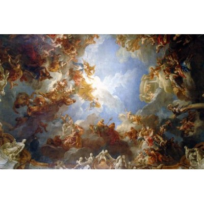 "Heavenly Painting Versailles壁壁画by Wallmonkeys Peel and Stickグラフィックwm153643 12""W x 8""H - Mini GEN..."