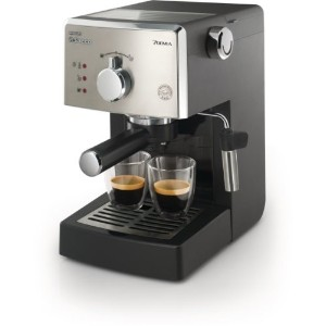 Saeco HD8325/47 Poemia Class Manual Espresso Machine, Black by Saeco