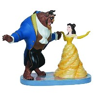 Precious Moments Disney Ltd Ed Belle and Beast Figurine [並行輸入品]
