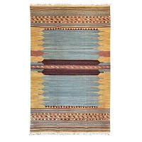 Weave Plant Dyeing Carpet Geometry Simple Living Room Bedroom Door Mats Bedside Mats Foot Pad...