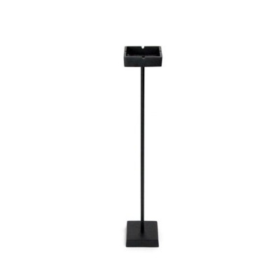 DETAIL Stand Ashtray Black Mat Square 3236
