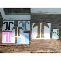 ≪10000円以上で送料無料!!≫TECHNINE DIECUT STICKER LOGO【BLACK/GRAY/GOLD/PINK/WHITE】2