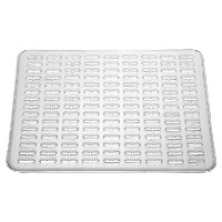 InterDesign Syncware Kitchen Sink Protector Mat Large, Clear by InterDesign