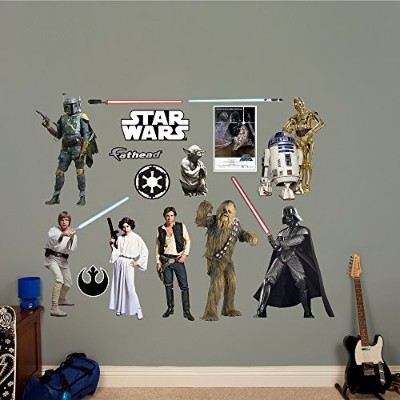 Fathead Star Wars Original Trilogy Characters Collection Real Decals by FATHEAD