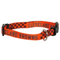 DoggieNation 716298104770 Small Cleveland Browns Dog Collar