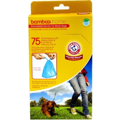 Arm & Hammer Disposable Handle Tie Pet 75 Waste Bags by Unknown