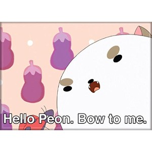 """ata-boy Bee and Puppycat """" Hello Peon。Bow to Me。」マグネット"""