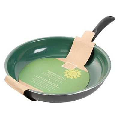 Gibson Home 62410.01 Hummington Eco-Friendly 10-Inch Ceramic Non-Stick Fry Pan, Green by Gibson
