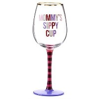 "Be My Baby、ワインやビールガラス大人用Sippy Cup 3.3"" Dia x 8.9"" H"